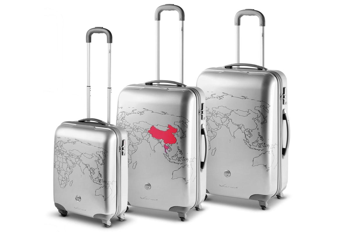 handbagage afmetingen koffers