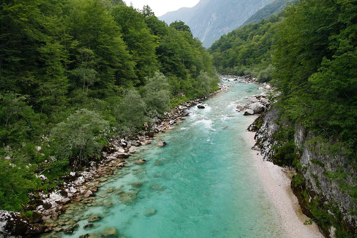 reisroute slovenie natuurgebieden