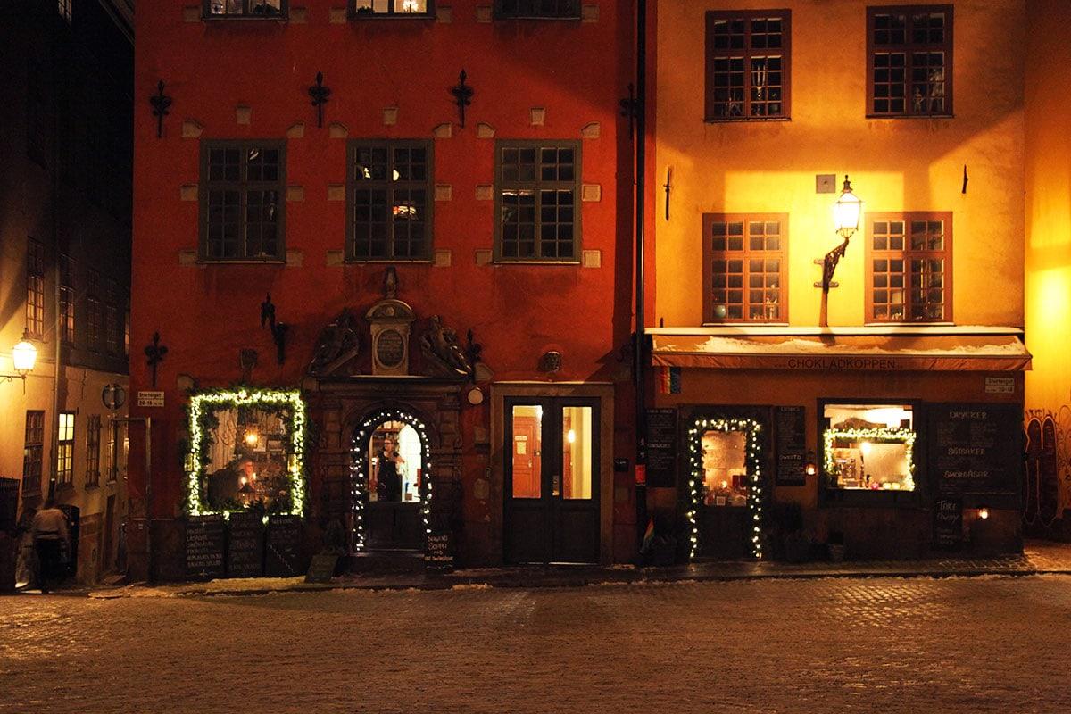 Kerst in Gamla Stan Stockholm