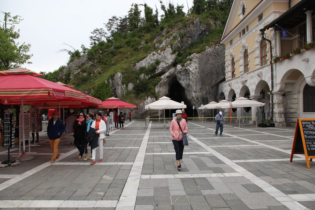 Grotten van Slovenië