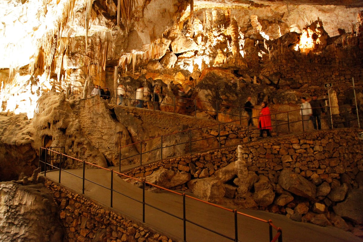 Postojna grotten bezoeken in Slovenie