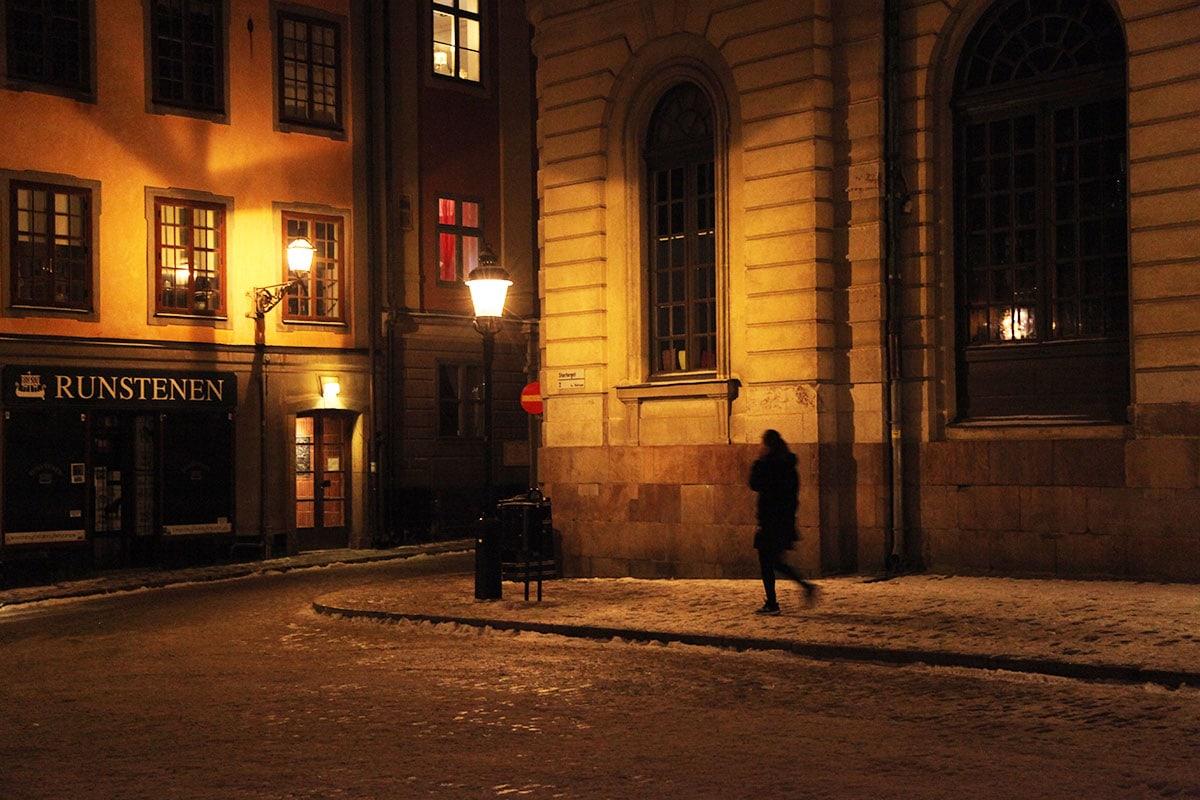 Straatjes in Gamla Stan Stockholm