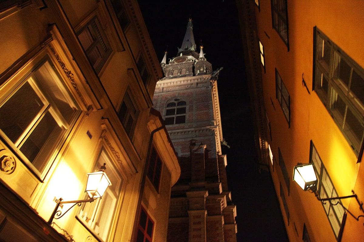 Oude wijk Gamla Stan Stockholm