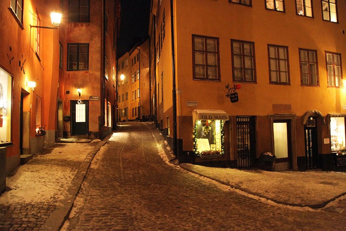 Gamla Stan straatjes Stockholm