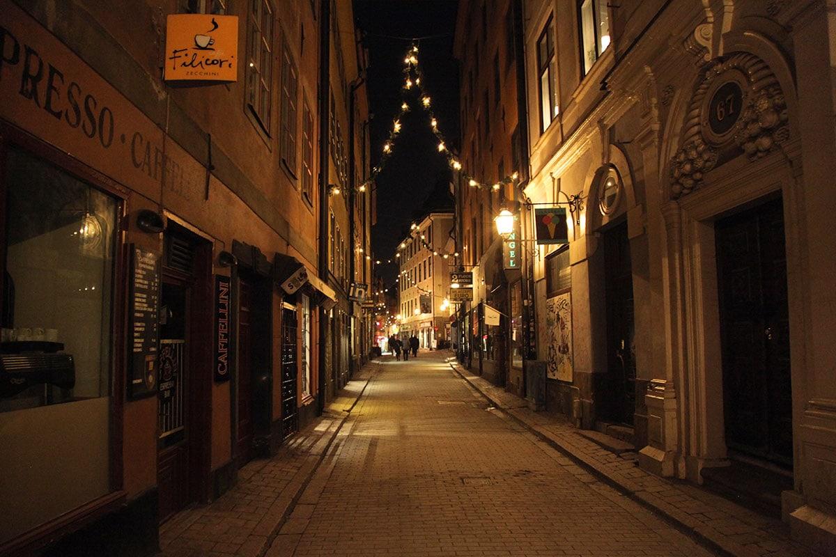 Oude centrum Stockholm Gamla Stan