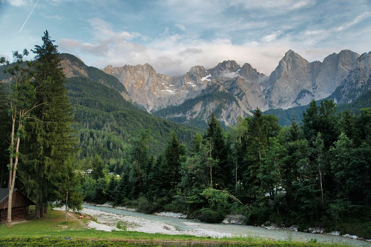 Julische Alpen in Slovenië