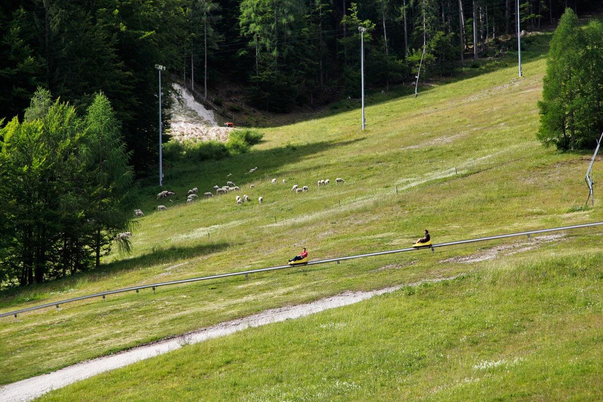 kranjska gora rodelbaan slovenie