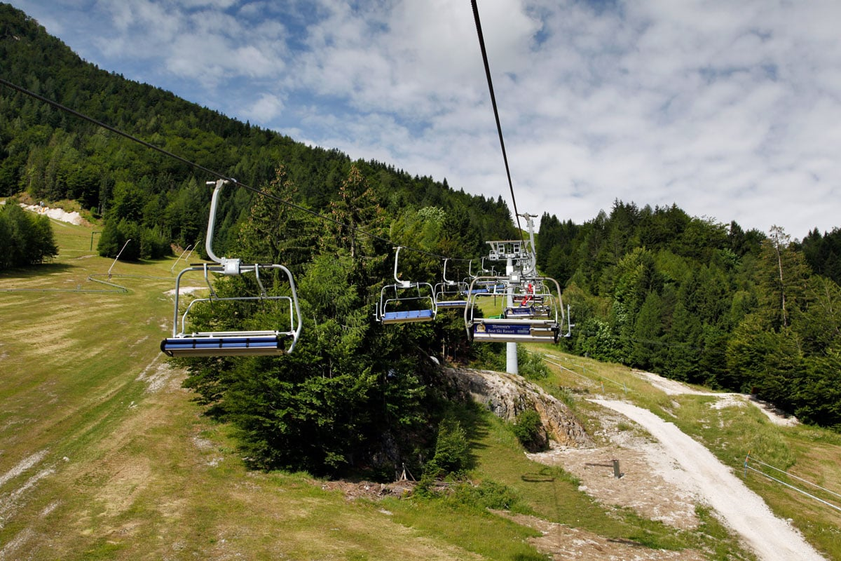 kranjska gora skigebied slovenie