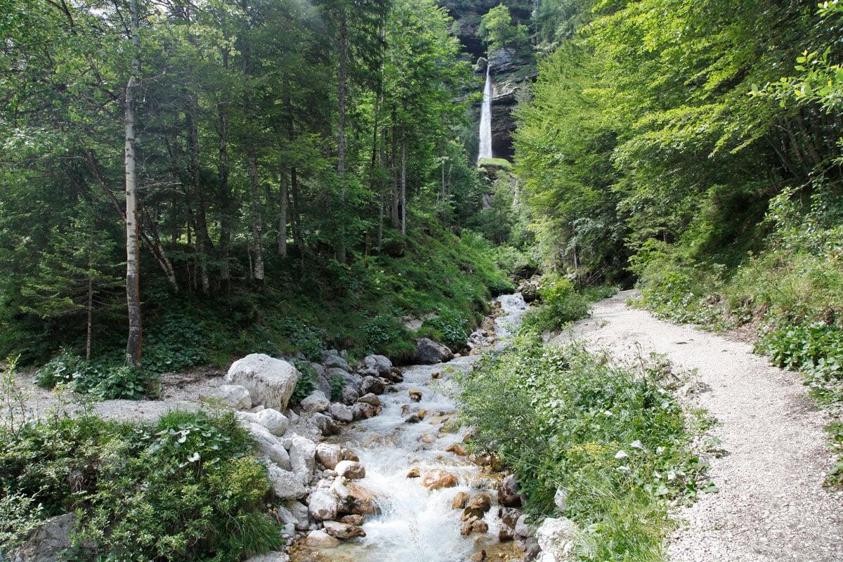 Peričnik waterval slovenie