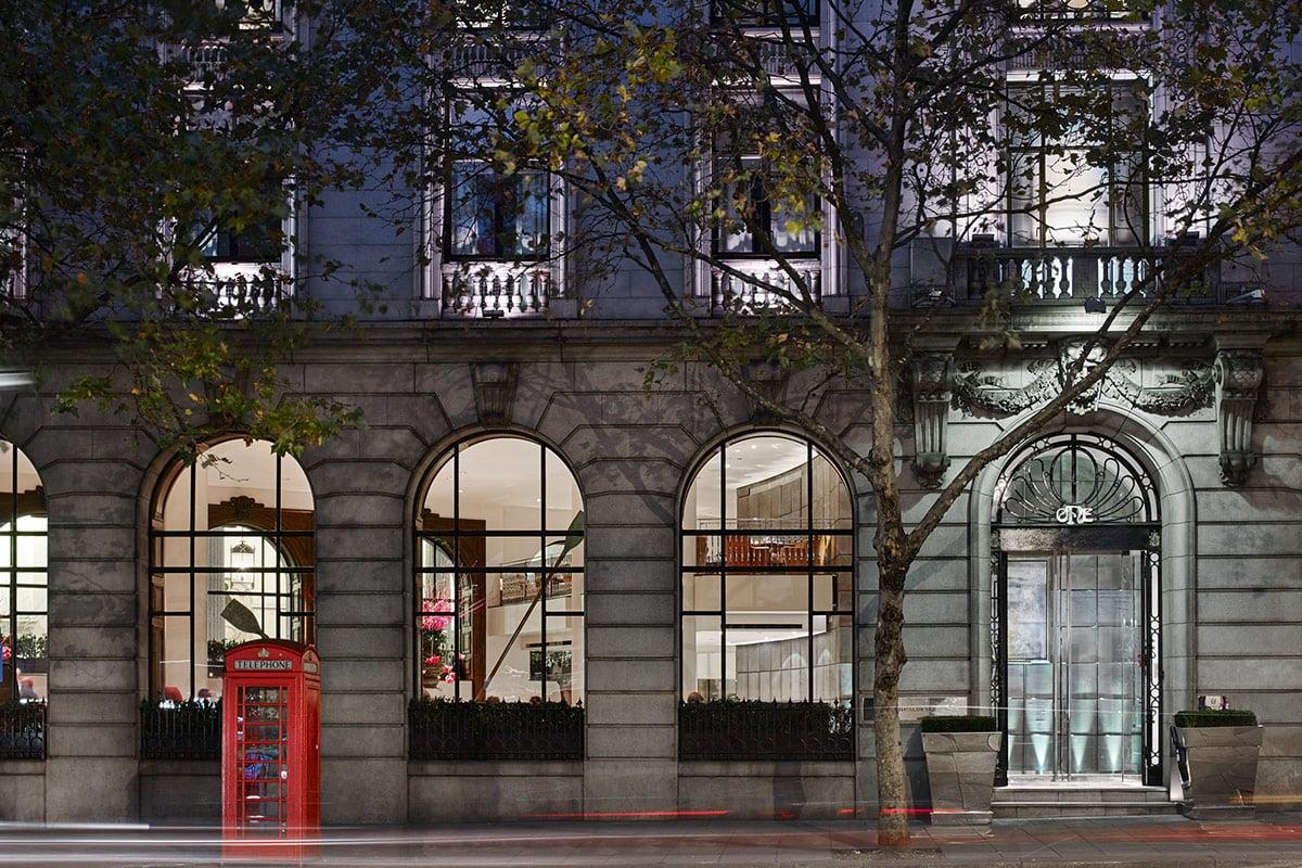 One Aldwych hotel Londen kerst