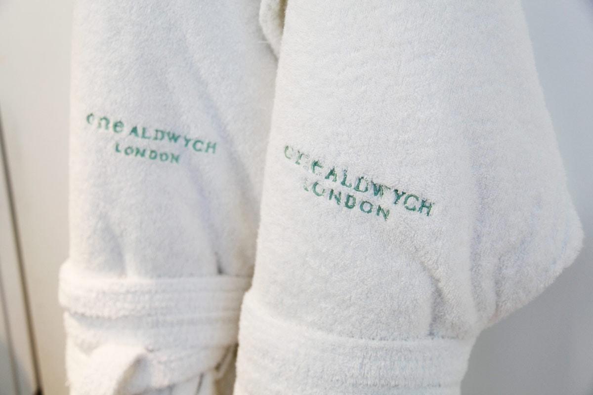 One Aldwych Hotel Londen - Badjassen