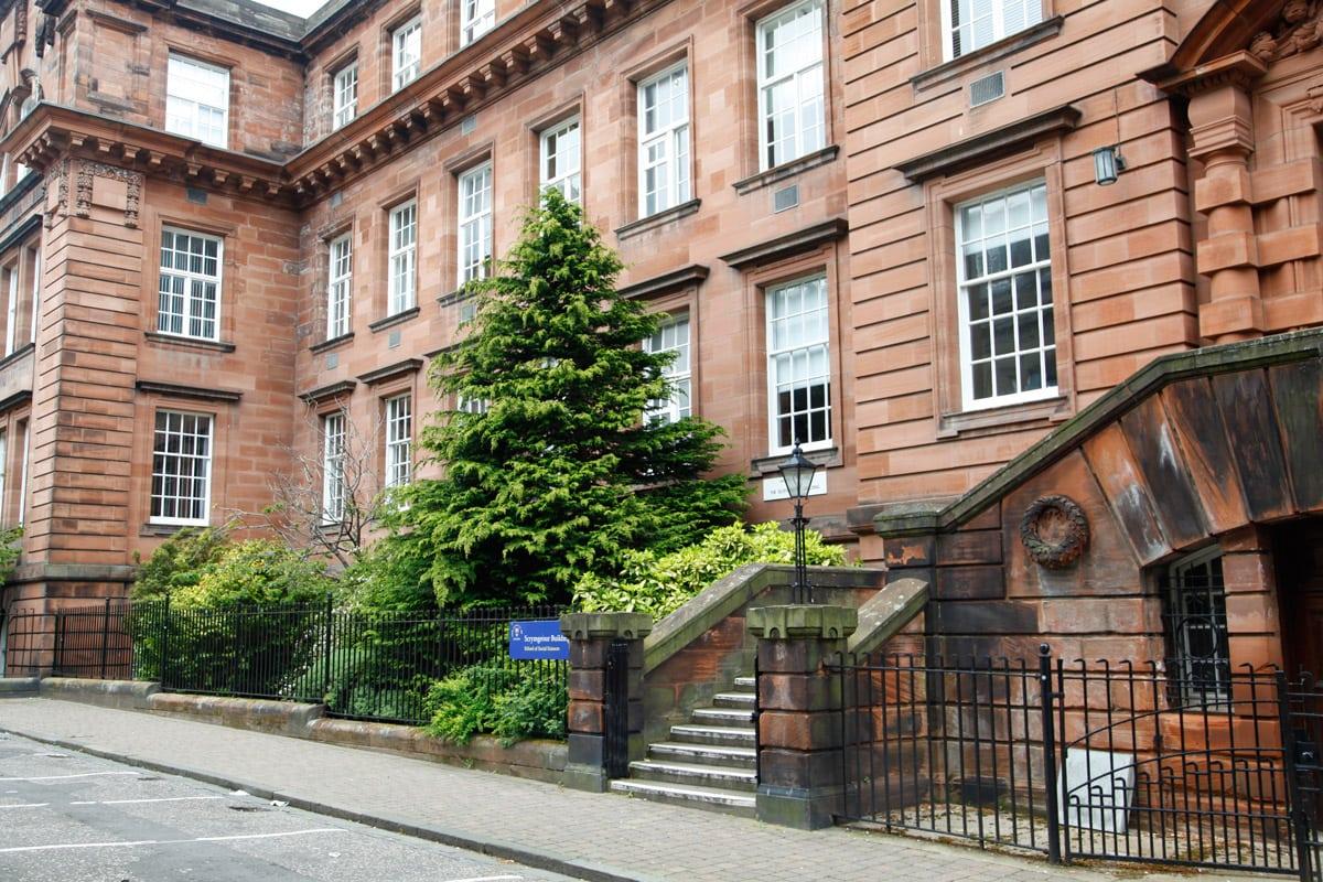 Architectuur in Dundee Schotland