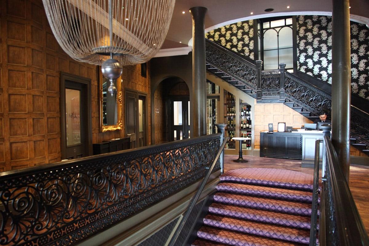Malmaison luxe hotel in Dundee Schotland
