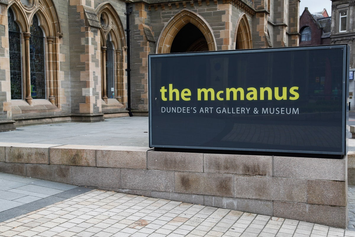The Mcmanus museum in Dundee
