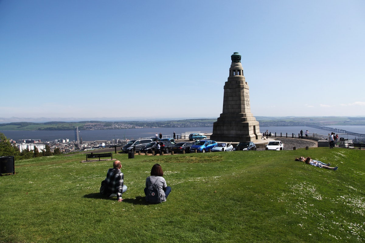 Law Hill in Dundee