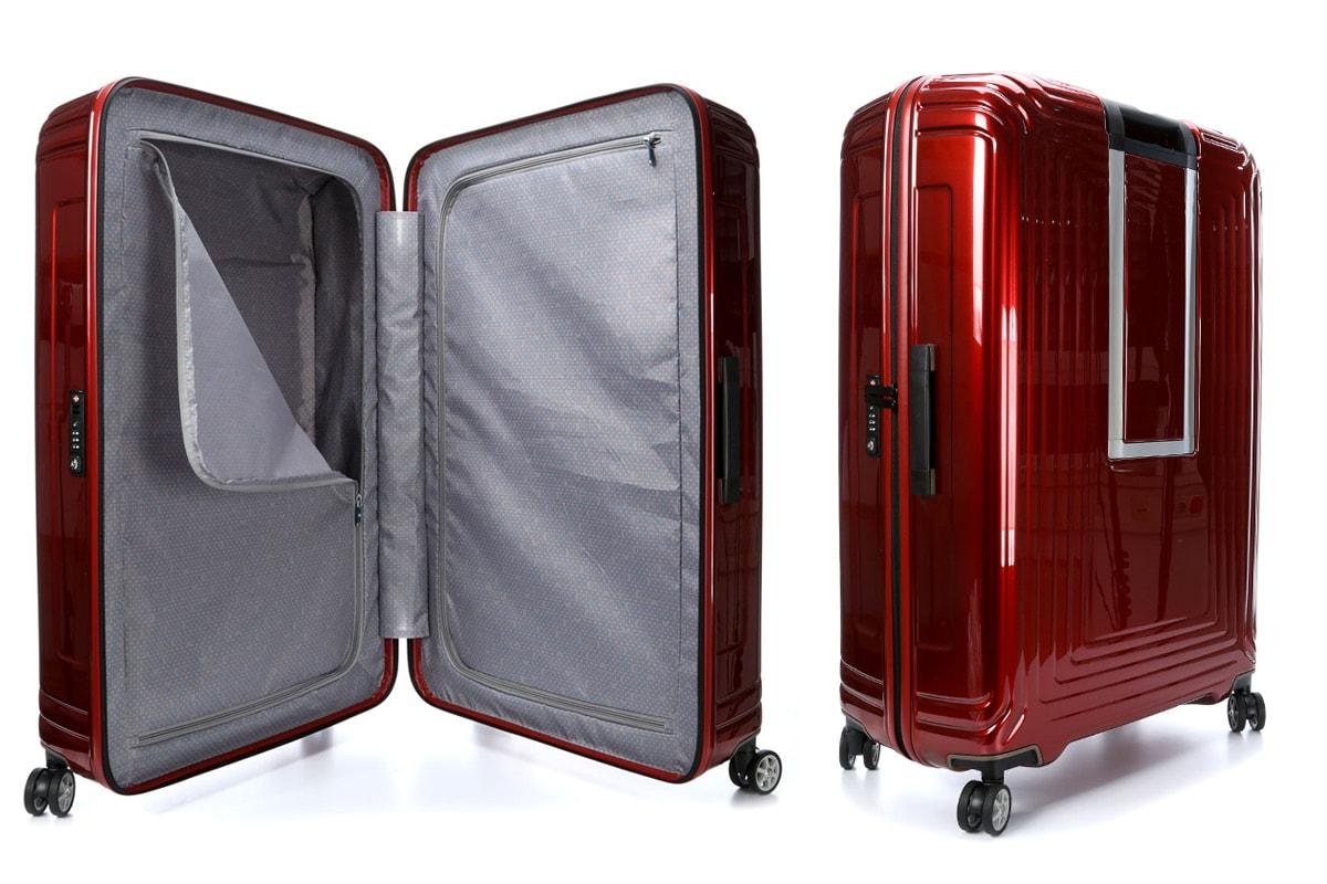 Beste koffers Samsonite Neopulse Rood 69cm