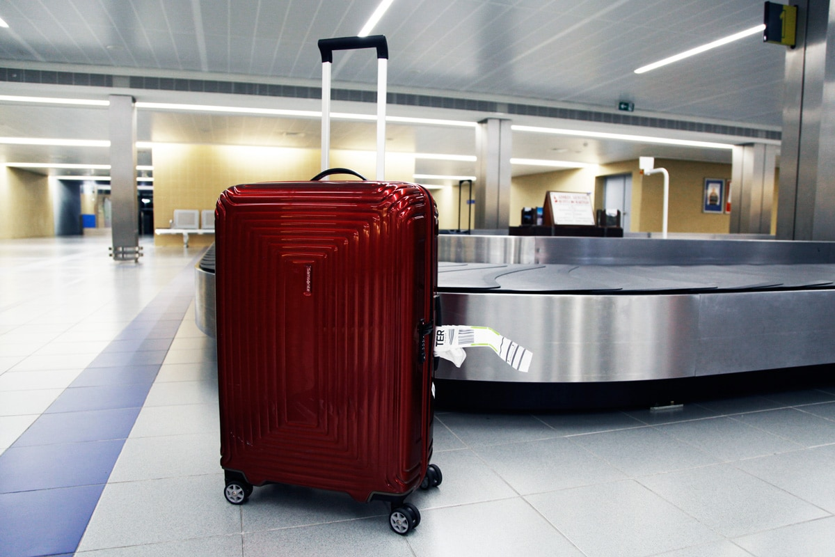 Samsonite Neopulse Metallic Red 69cm