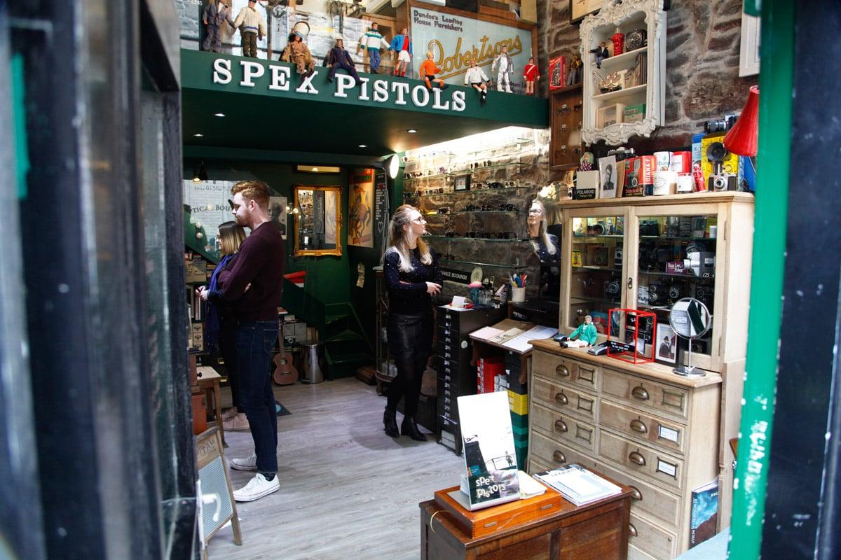 Winkelen in Dundee