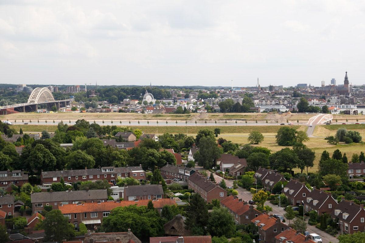 Hotel Van der Valk Nijmegen - Uitzicht kamer 1209