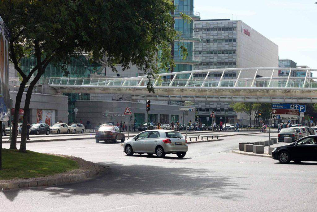 Vasco da Gamma winkelcentrum in Lissabon