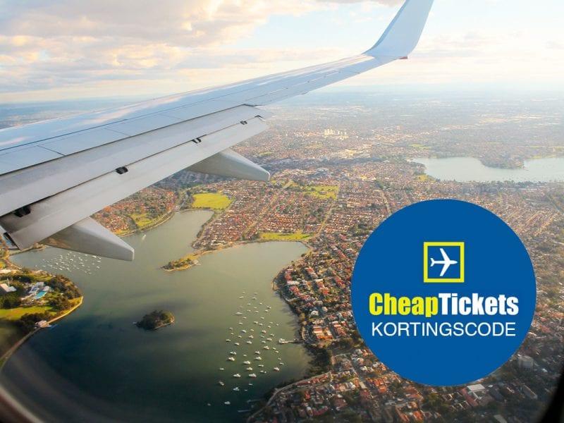 cheaptickets-korting-vliegtickets