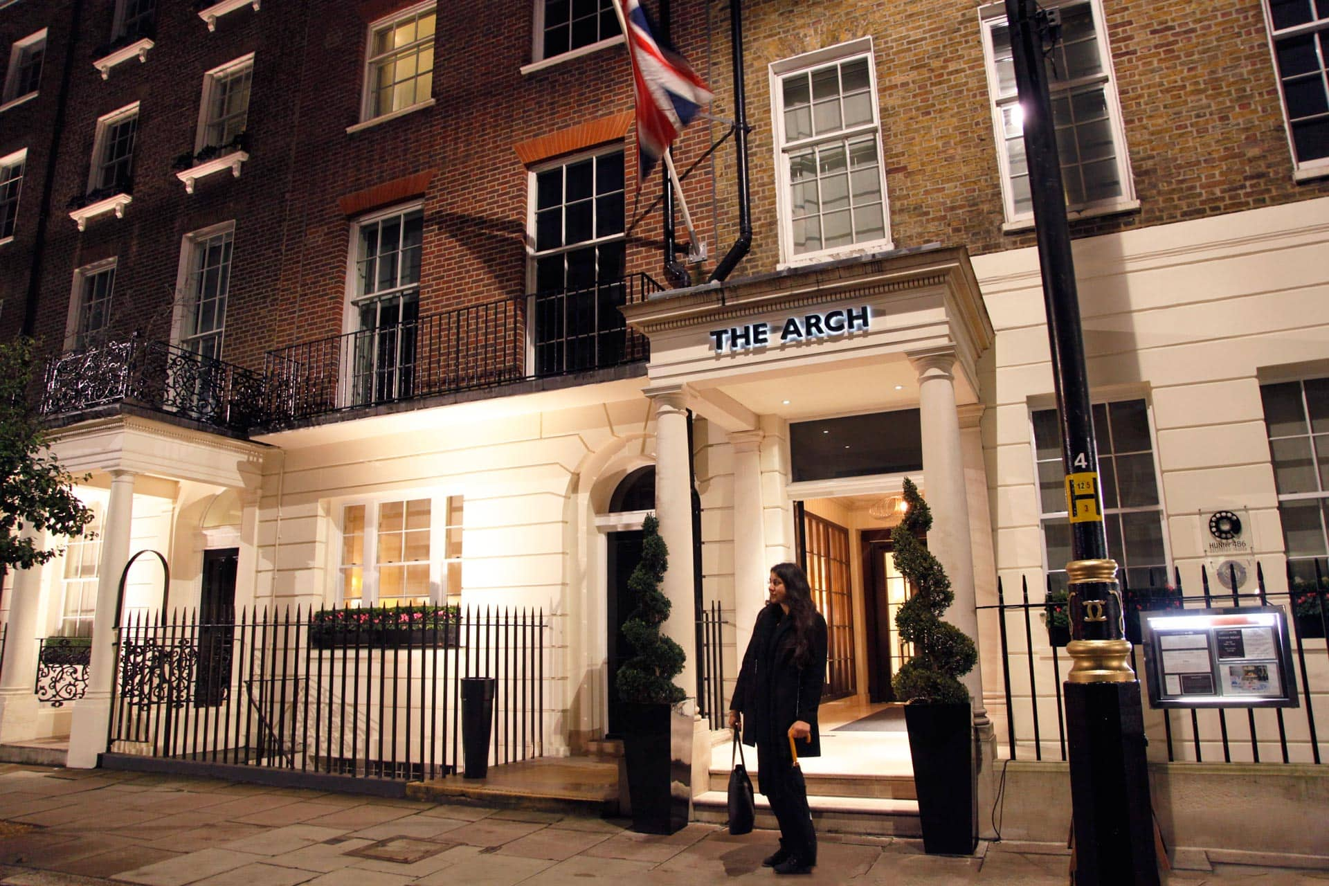 The Arch Luxe boutique hotel Londen