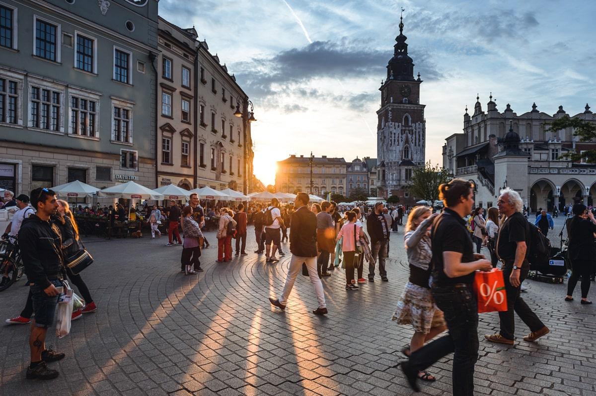 goedkope stedentrips europa krakau