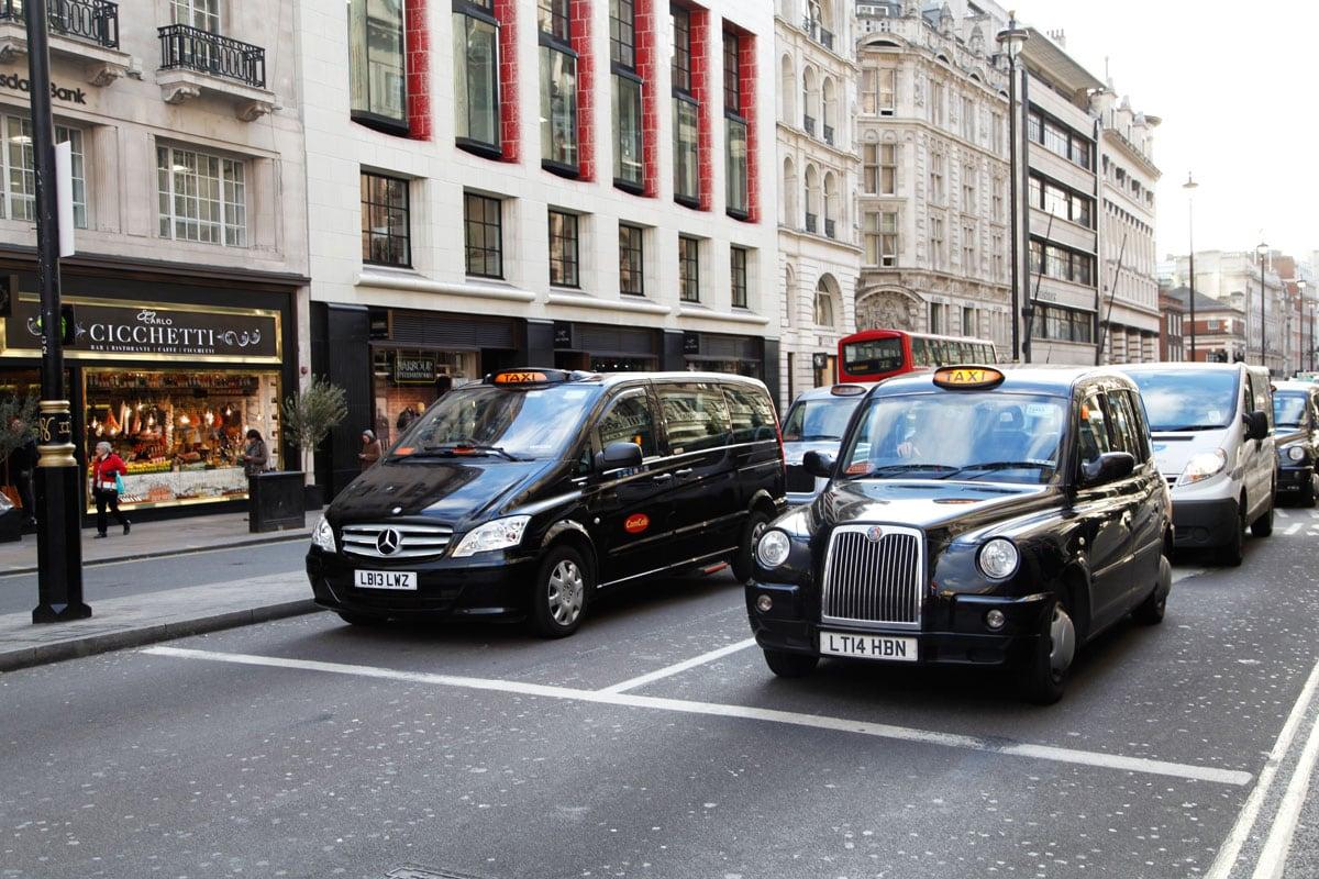 black cab londen stedentrip