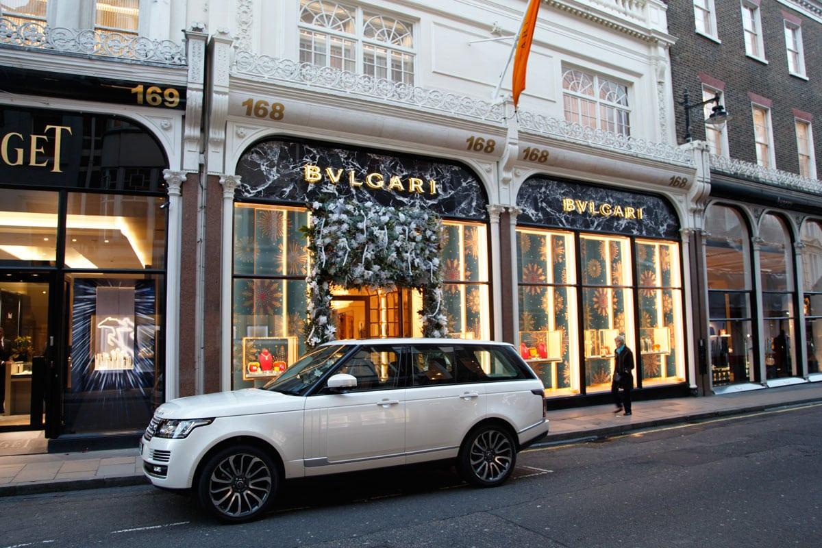 Luxe winkels Bond Street Londen