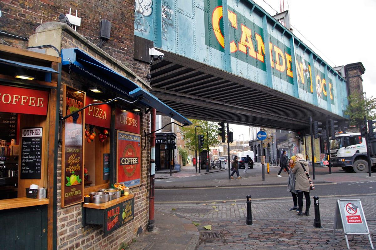 street food londen camden market