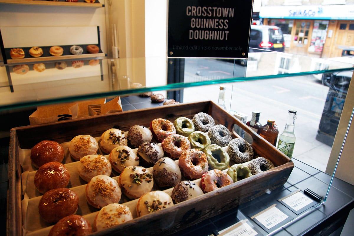 Beste donuts in Londen Crosstown Doughnuts
