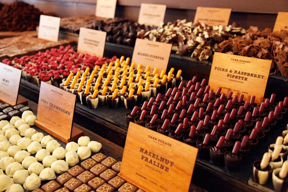 Chocolade Londen Hotspots Dark Sugars