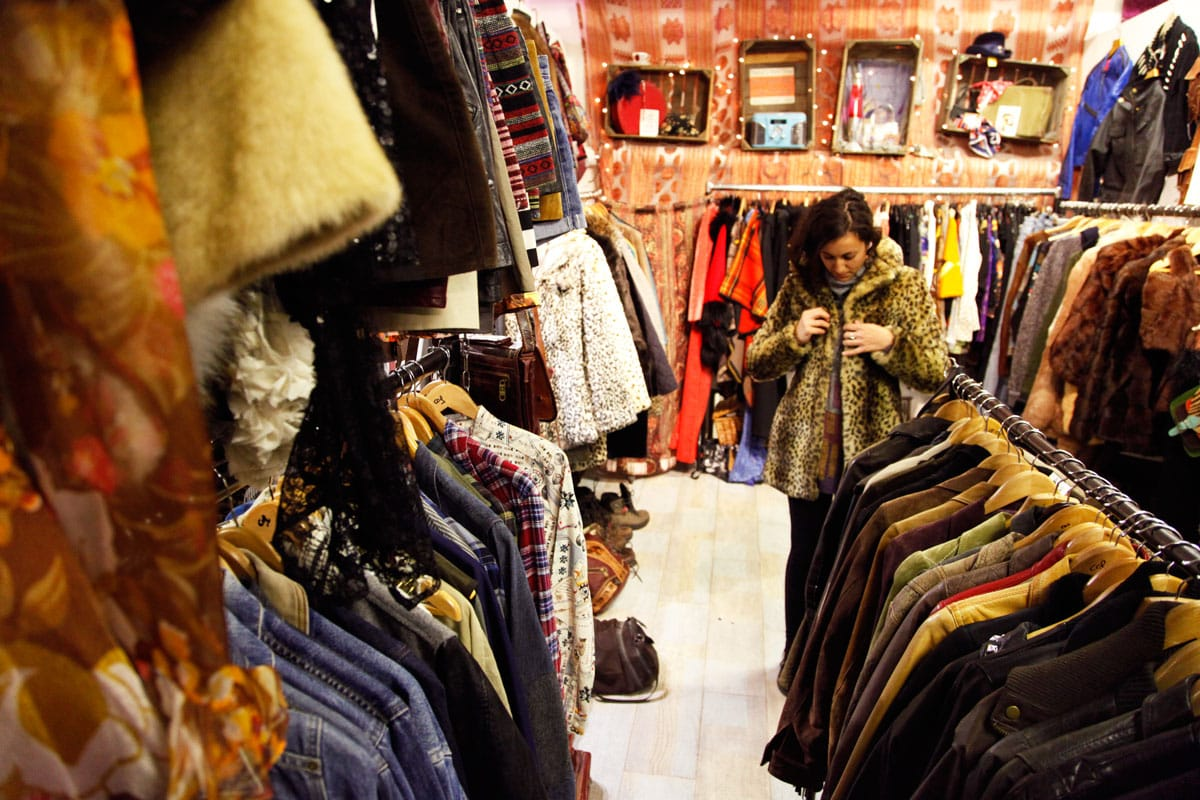vintage shoppen londen shoreditch