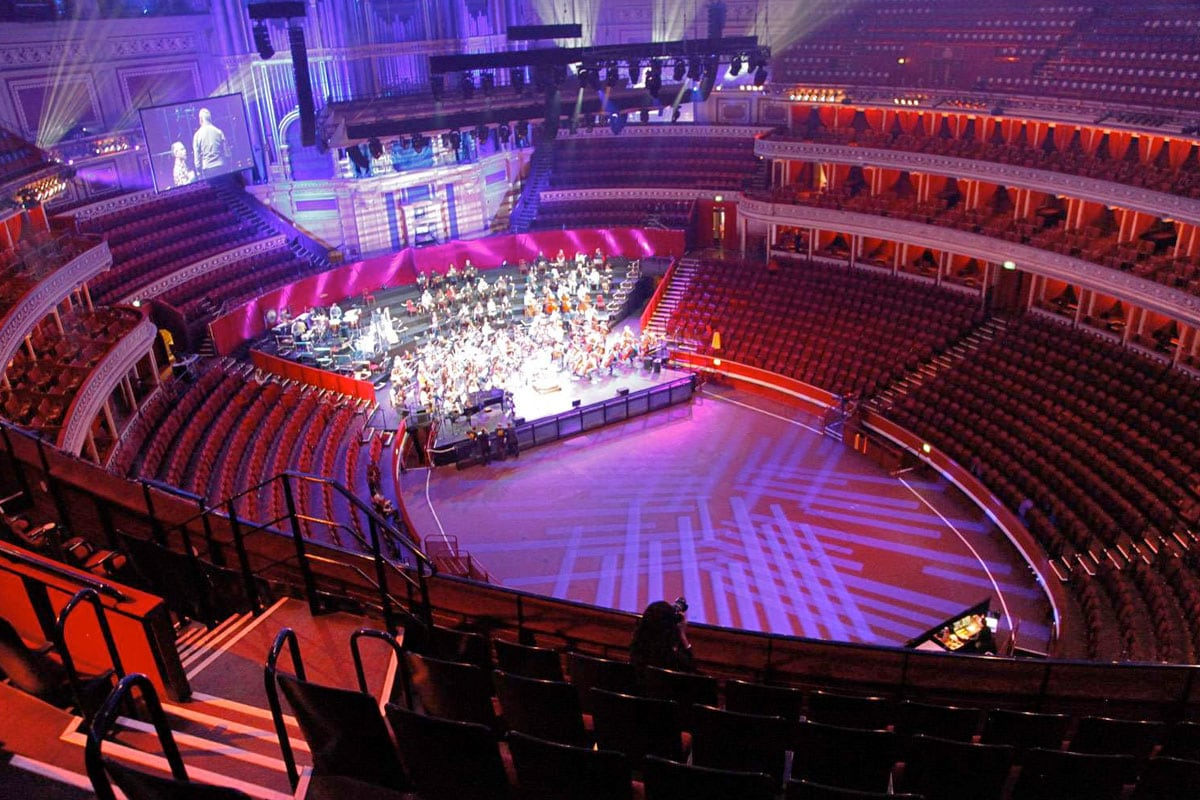 royal albert hall tour londen