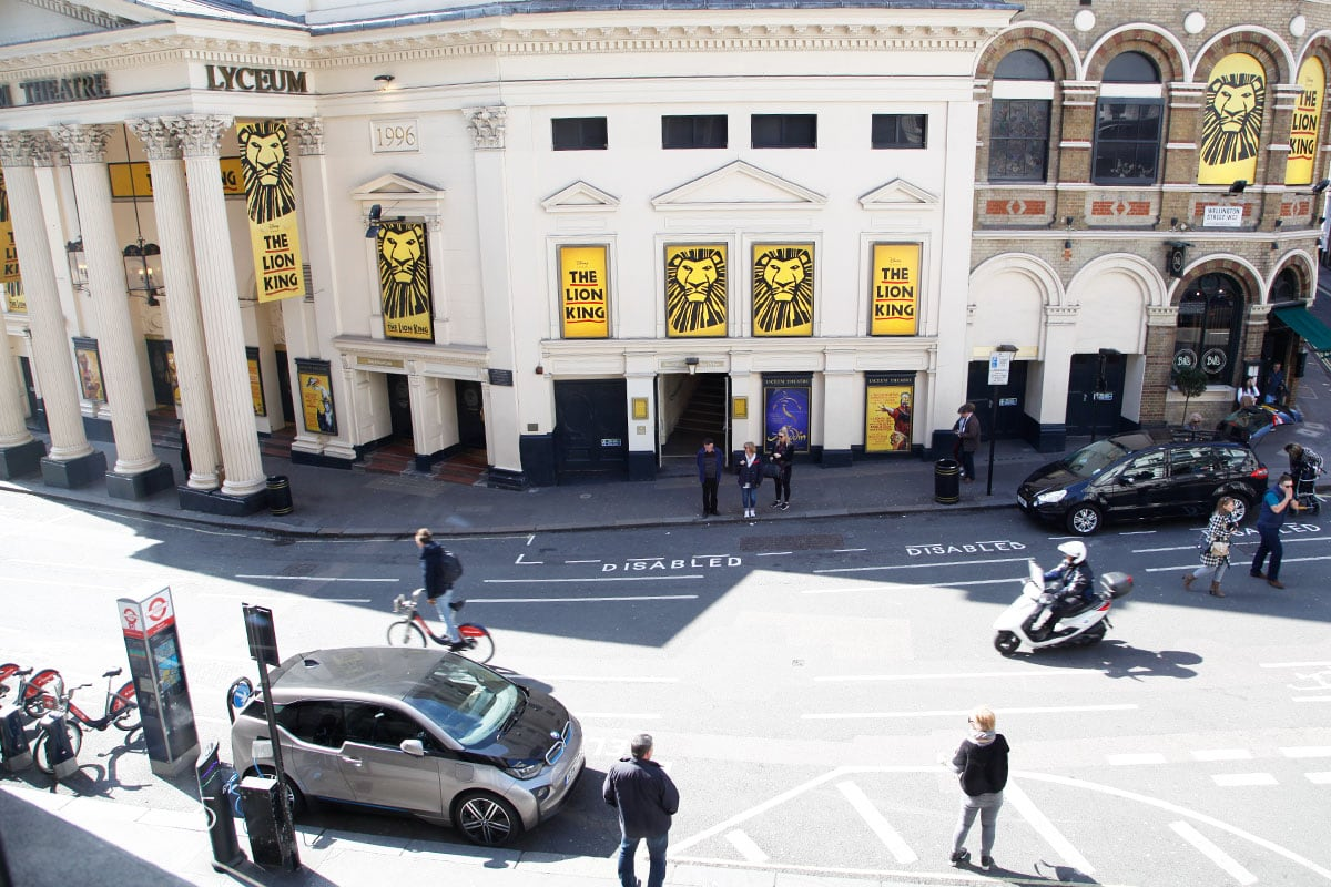 londen theater leicester square musicals
