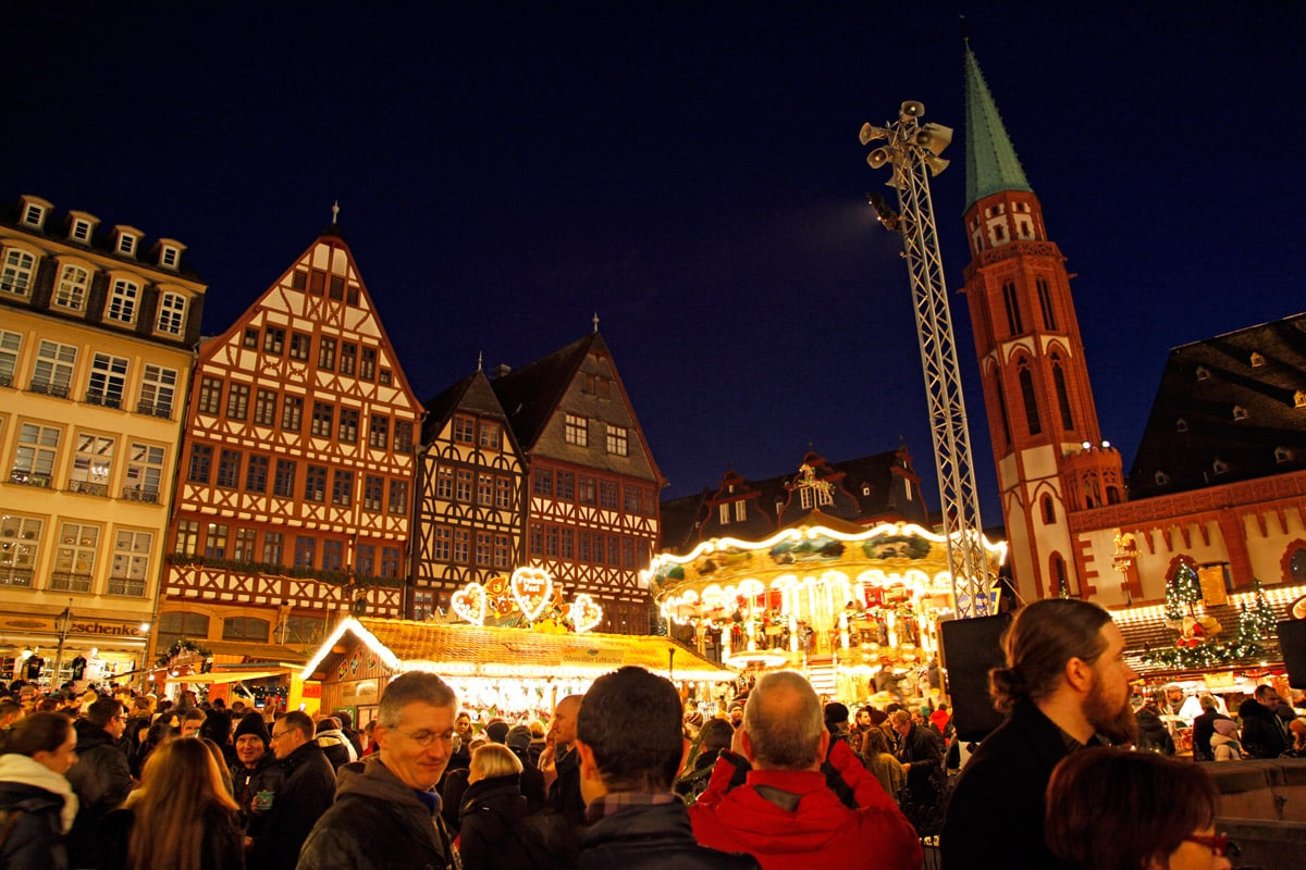 oudste kerstmarkt ter wereld Frankfurt