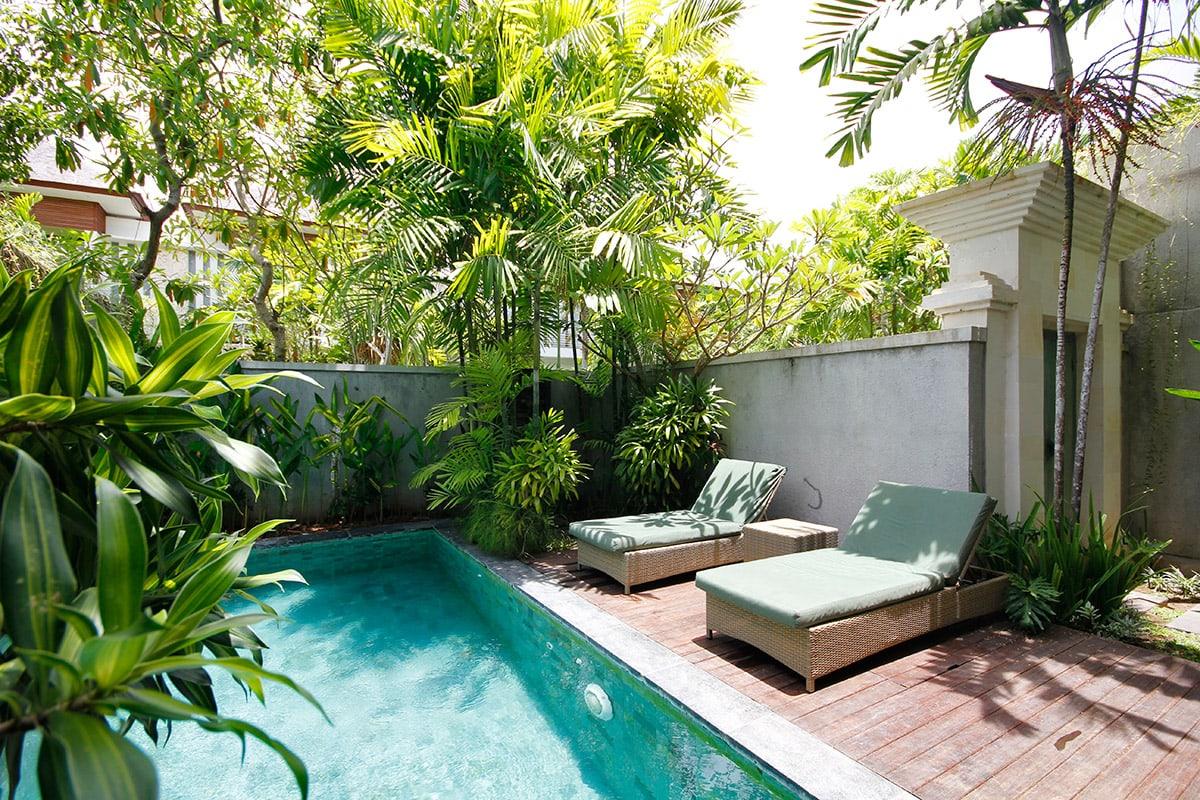 luxe villa met zwembad op bali