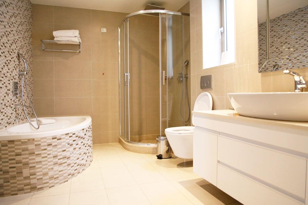 Ikos Olivia hotel Chalkidiki - Deluxe badkamer