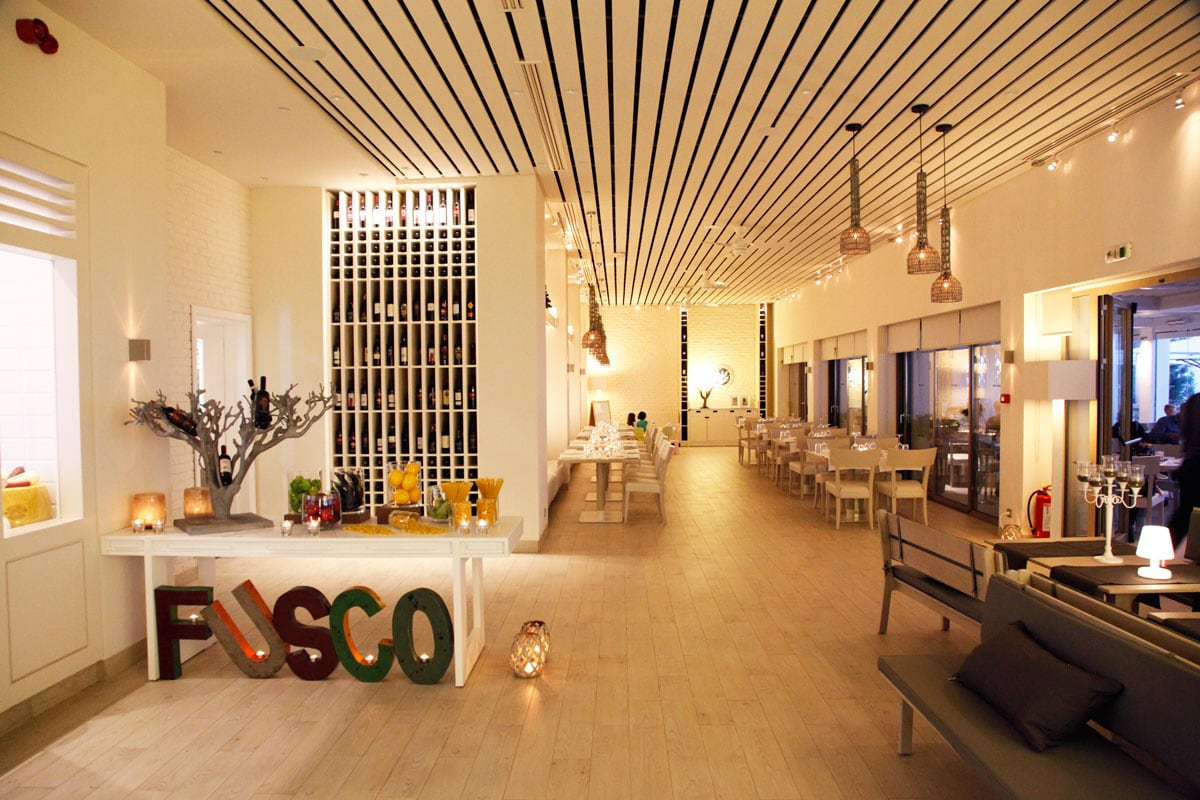 Ikos Olivia resort Fusco Italiaans restaurant