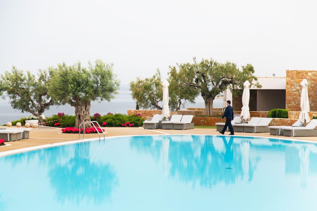 Deluxe zwembad Ikos Olivia Griekenland