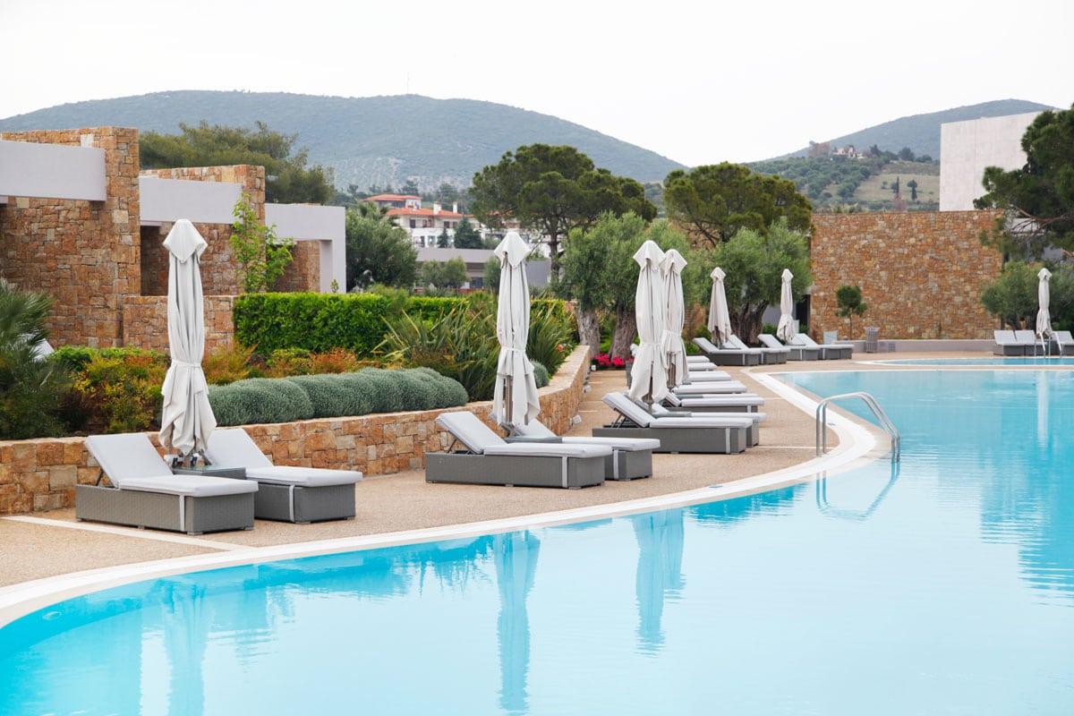 Deluxe zwembad Ikos Olivia Halkidiki
