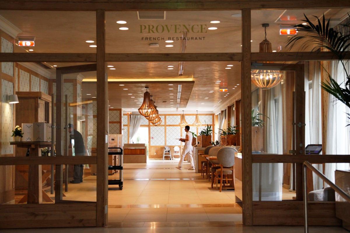 Ikos Olivia resort - Provence Frans restaurant
