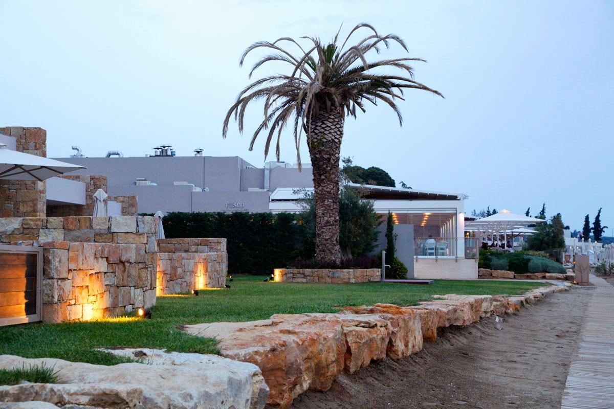 Ikos Olivia hotel strand