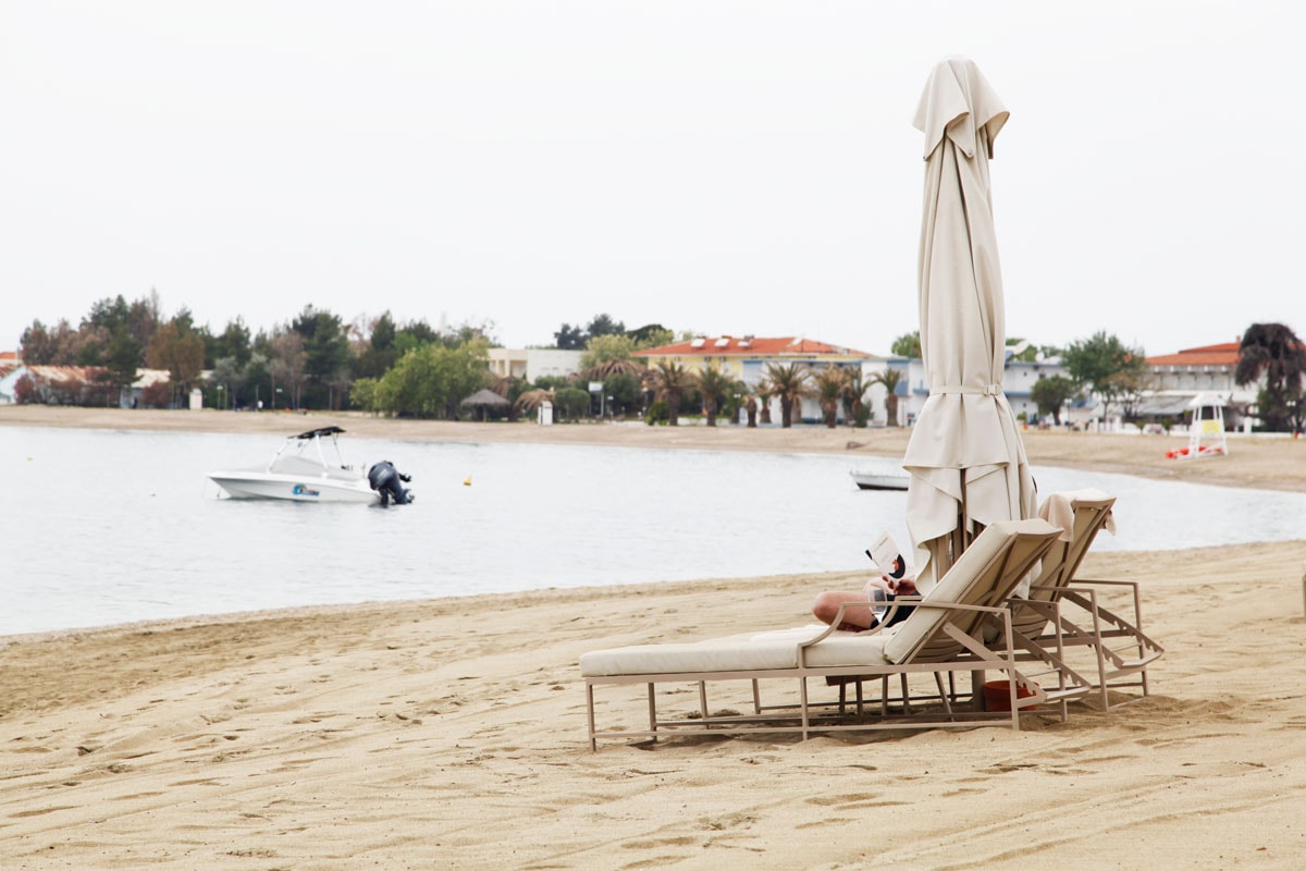 Ikos Olivia resort Chalkidiki - Strand