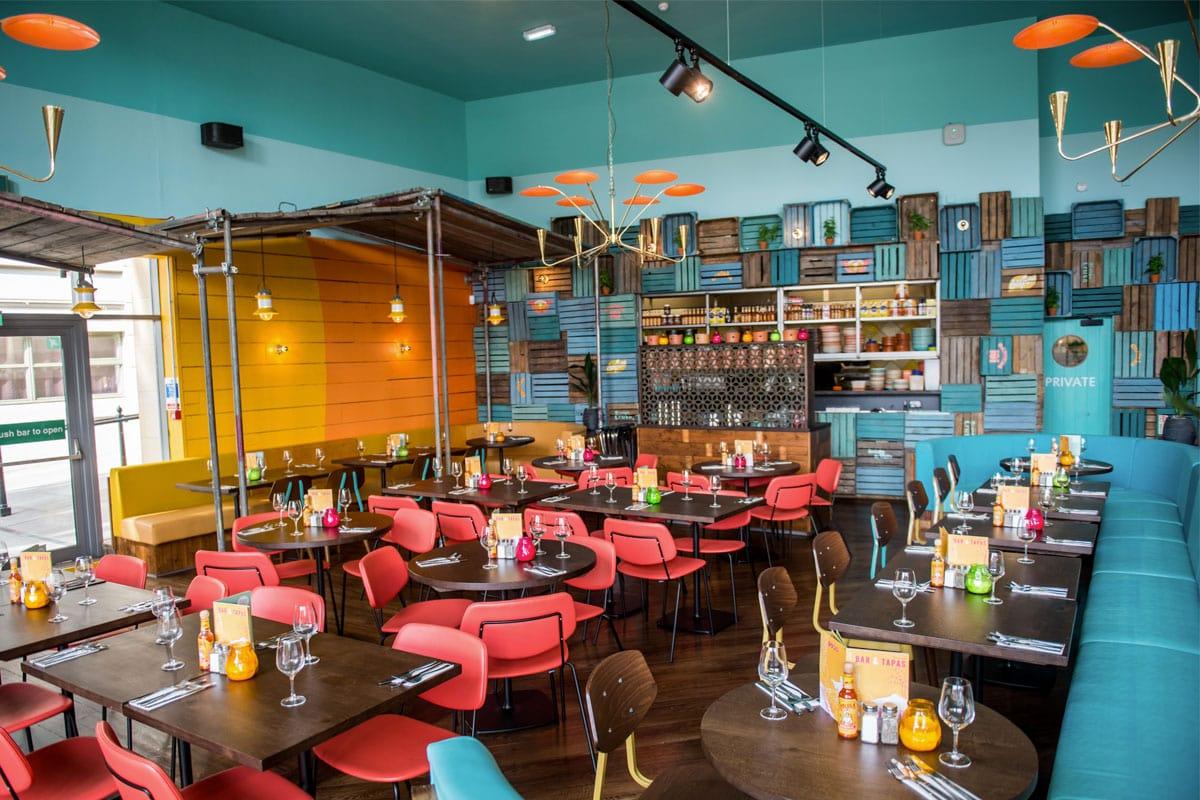 Las Iguanas - Latijns-Amerikaans restaurant in Newcastle
