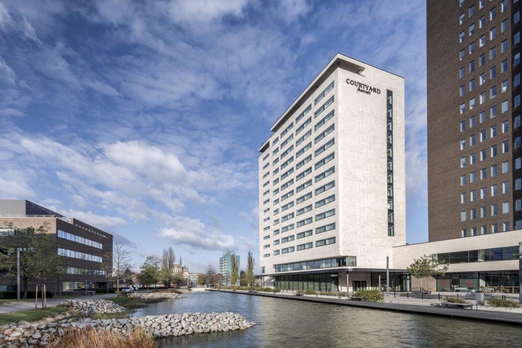 Marriott Courtyard hotel in Brno