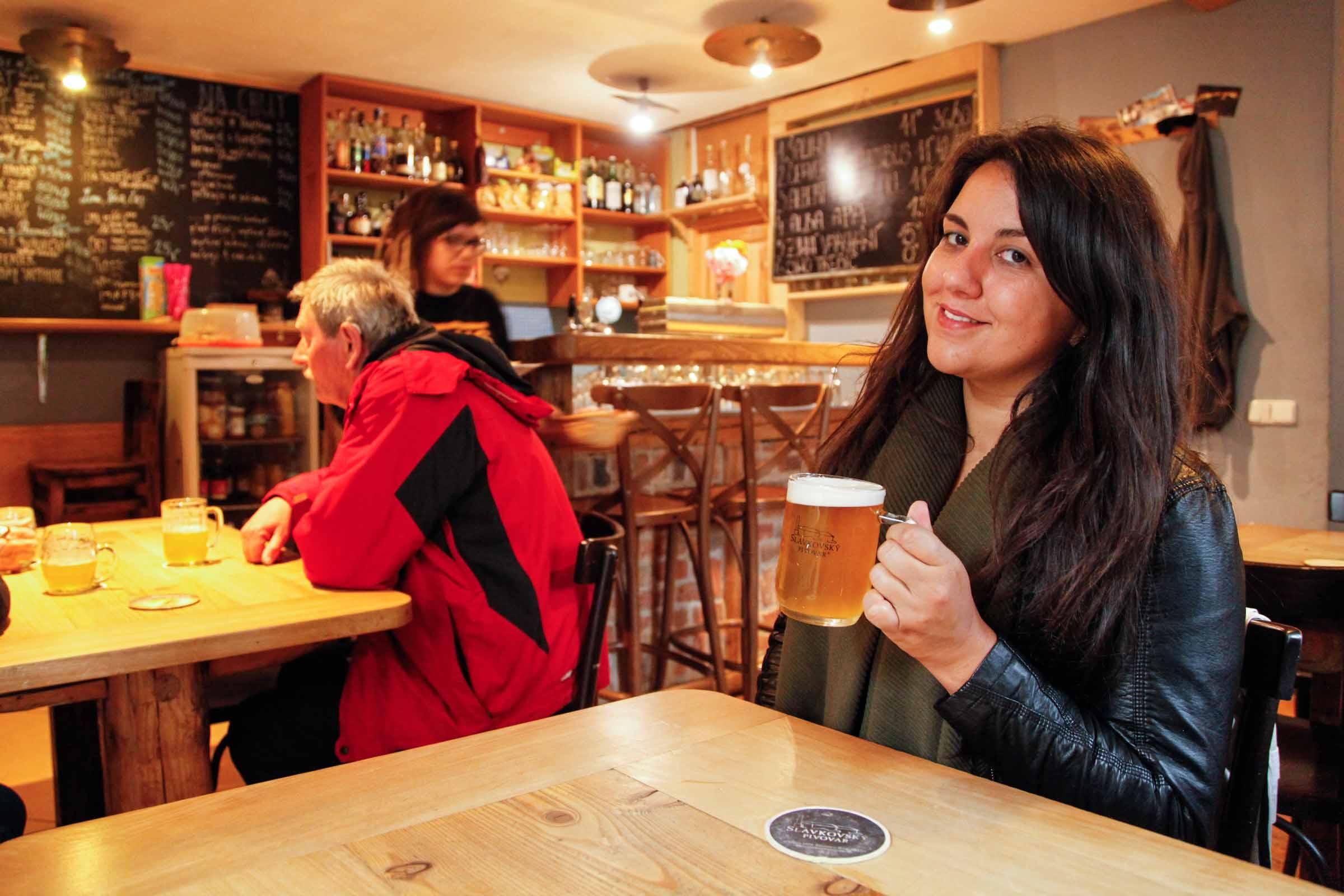 Bier drinken in Brno Tsjechisch bier