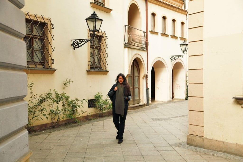 Hofjes en straatjes in Brno