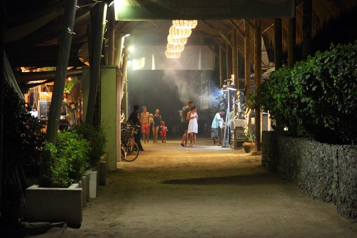 eten restaurants gili eilanden gili air