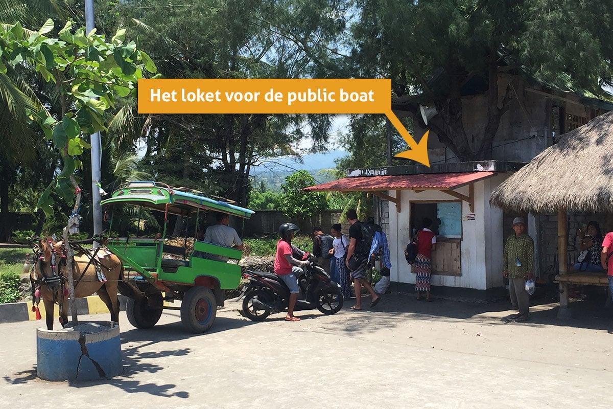 gili eilanden public boat gili air